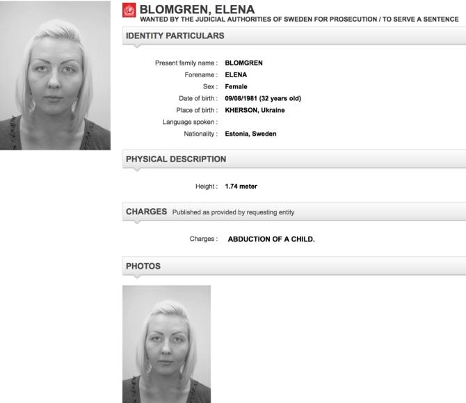 Elena Blomgren Skobelina Tallinn Tyresö