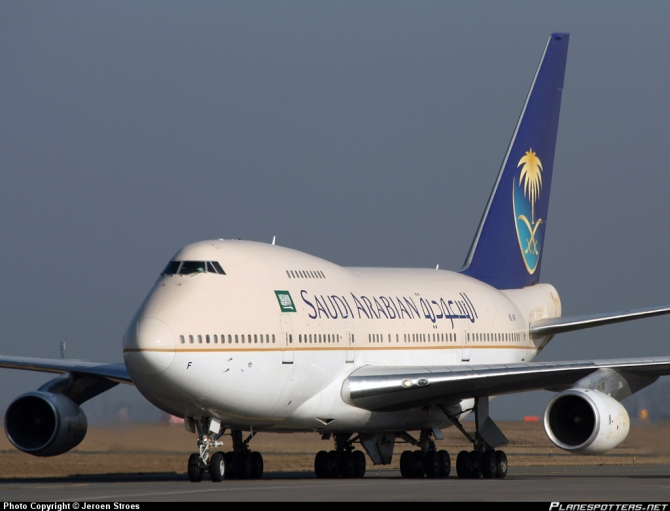 Saudi airways Boeing