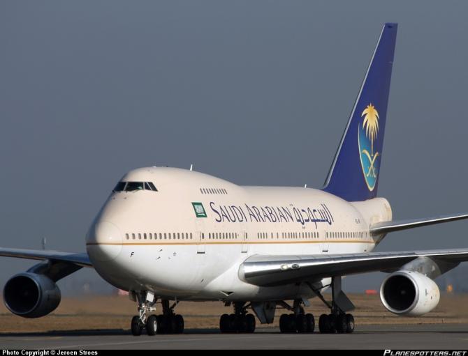 Saudi airways Boeing