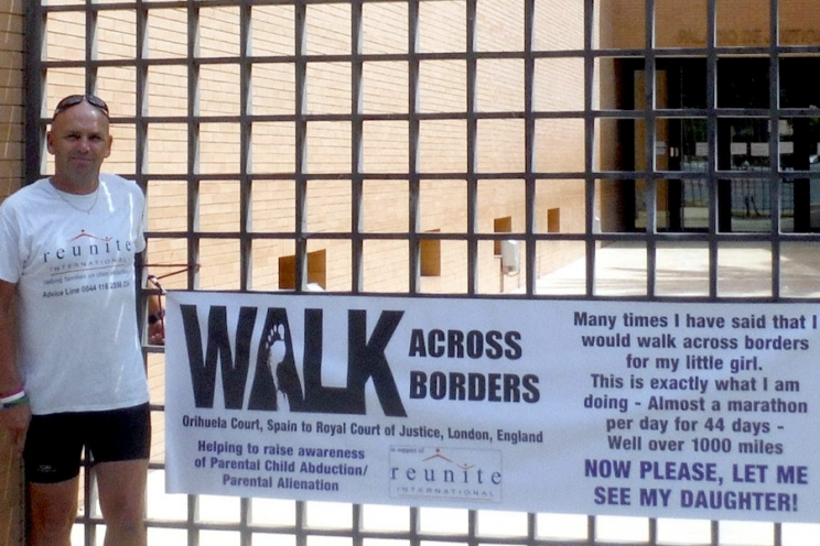 Parental Abduction Spain – Walking across borders: Orihuela father's fight to see his daughter