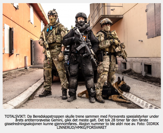 Beredskapstroppen FSK Delta Politi