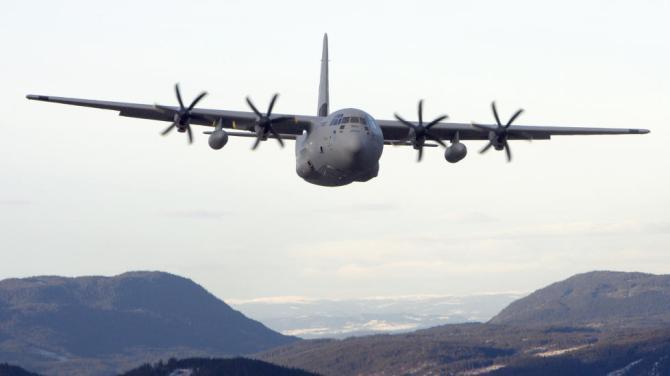 Hercules Norwegian Airforce