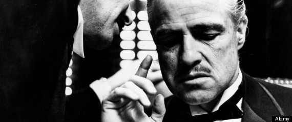 C5JY0B marlon brando in the godfather 1972