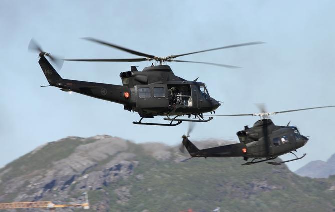 Luftforsvaret Bell Helikopter