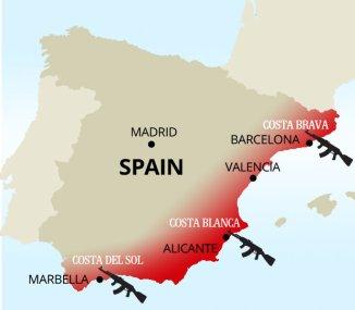 Terror Spain Tourists
