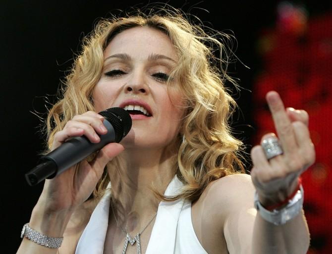 Madonna-Finger