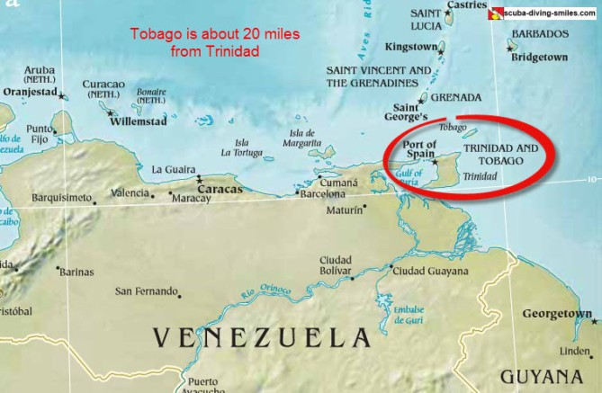 map-of-trinidad-and-tobago