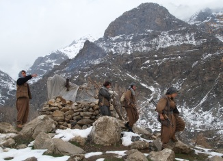 Iraq Kurdistan PKK Camp