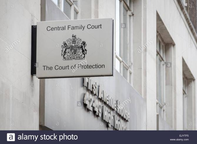 central-family-court-first-avenue-house-london-uk-ejytf5