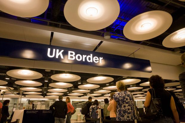UK Border At Heathrow Airport